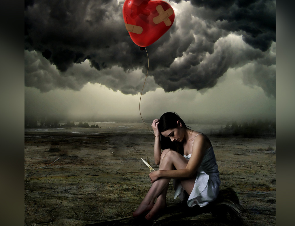 خروج از یک رابطه عاطفی ناموفق توأم با درد و رنج زیادی است