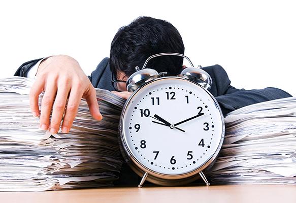 مدیریت زمان و استرس شغلی