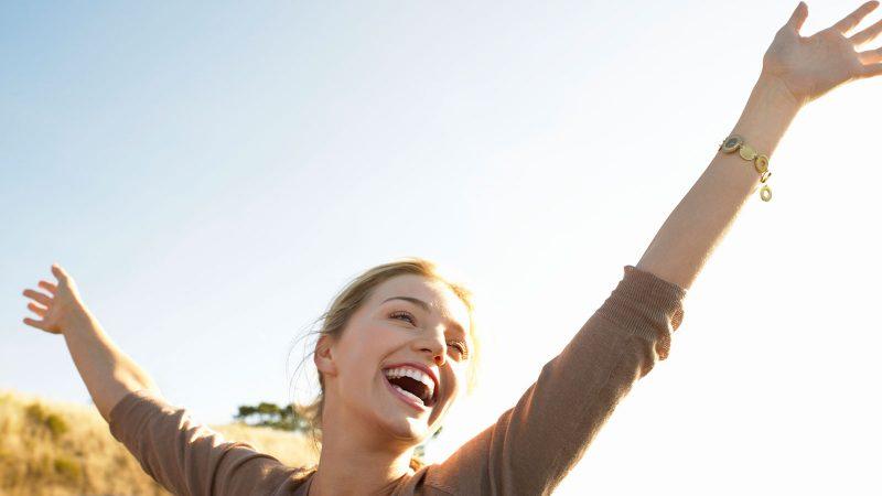 خوشبختی یک احساس رضایت درونی است