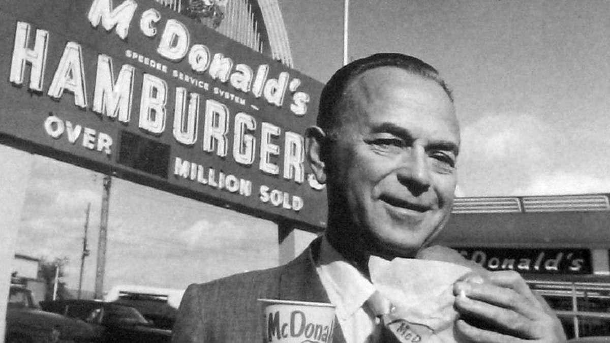 داستان زندگی موفق ترین مالک رستوران های زنجیره ای: ری کراک